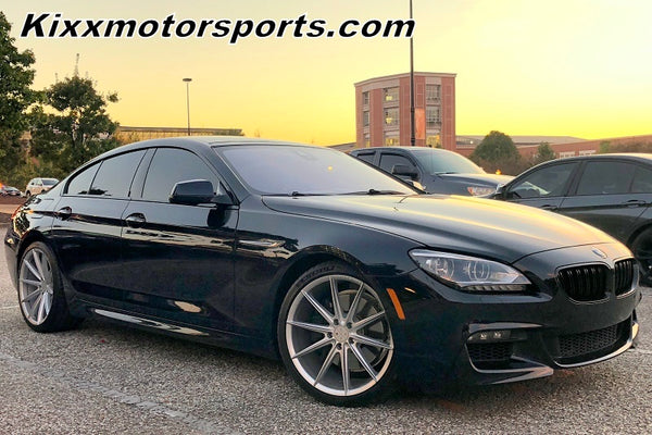 BMW 650i  with 20x9 20x10 Blaque Diamond BD11 Silver Concave Wheel Rims By Kixx Motorsports https://www.kixxmotorsports.com