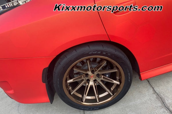 """Dodge Charger Hellcat with 20"""" Ferrada CM2 Brushed Cobre Bronze concave staggered wheels. By Kixx Motorsports www.kixxmotorsports.com . A"""