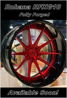 Rohana RFX10 Forged Wheels by Kixx Motorsports
