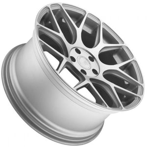 Avant Garde M590 Silver concave wheels rims by KIXX Motorsports https://www.kixxmotorsports.com/products/19-full-staggered-set-avant-garde-m590-19x8-5-19x11-silver-wheels