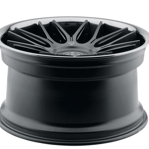 Blaque Diamond BD-27 Black concave staggered wheels rims by Kixx Motorsports https://www.kixxmotorsports.com 6