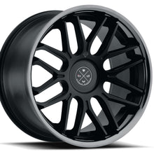 22x10.5 Blaque Diamond BD27 Black concave wheels rims by Kixx Motorsports https://www.kixxmotorsports.com 1