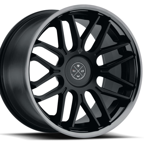 22x9 Blaque Diamond BD27 Black concave wheels rims by Kixx Motorsports https://www.kixxmotorsports.com 1