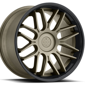 "22"" Blaque Diamond BD-27 Bronze concave staggered wheels rims by Kixx Motorsports https://www.kixxmotorsports.com 7"