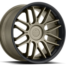 "20"" Blaque Diamond BD-27 Bronze concave staggered wheels rims by Kixx Motorsports https://www.kixxmotorsports.com 4"