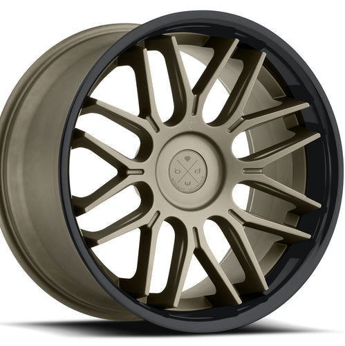 22x9 Blaque Diamond BD-27 Bronze concave wheels rims by Kixx Motorsports https://www.kixxmotorsports.com 1