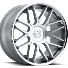 "20"" Blaque Diamond BD27 Silver staggered concave wheels rims by Kixx Motorsports https://www.kixxmotorsports.com 4"