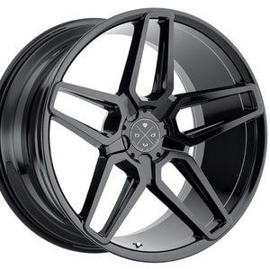 "20"" Blaque Diamond BD17-5 Gloss Black concave wheels rims by Kixx Motorsports https://www.kixxmotorsports.com 2"