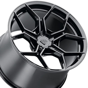 22x9 Blaque Diamond BD-F25 Forged Black Concave Wheels Rims. By Kixx Motorsports www.kixxmotorsports.com 949-610-6491 . C