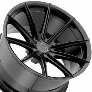 Blaque Diamond BD11 Black concave wheels rims by KIXX Motorsports https://www.kixxmotorsports.com/products/19x8-5-blaque-diamond-bd-11-gloss-black-wheel