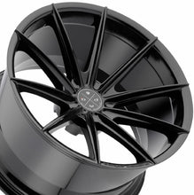 Blaque Diamond BD11 Black concave wheels rims by KIXX Motorsports https://www.kixxmotorsports.com/products/19x9-5-blaque-diamond-bd-11-gloss-black-wheel