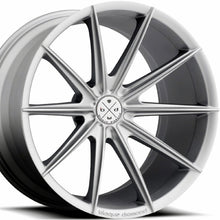 "20"" Blaque Diamond BD-11 Silver Concave Wheels Rims by KIXX Motorsports"