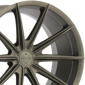 Blaque Diamond BD11 Bronze concave wheels rims by Authorized Dealer KIXX Motorsports https://www.kixxmotorsports.com/products/19x9-5-blaque-diamond-bd-11-matte-bronze-wheel