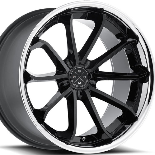 22x9 Blaque Diamond BD23 Black w/Chrome Concave wheels rims by KIXX Motorsports https://www.kixxmotorsports.com/products/22x9-blaque-diamond-bd-23-gloss-black-w-chrome-lip-wheel