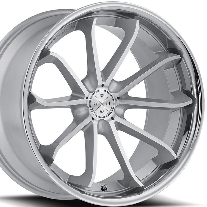 Blaque Diamond BD23 Silver Concave wheels rims by KIXX Motorsports https://www.kixxmotorsports.com/products/20-full-staggered-set-blaque-diamond-bd-23-20x10-20x11-silver-w-chrome-lip-wheels