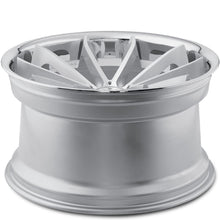 22x10.5 Blaque Diamond BD23 Silver Concave wheels by Authorized Dealer KIXX Motorsports https://www.kixxmotorsports.com/products/22x10-5-blaque-diamond-bd-23-silver-w-chrome-lip-wheel
