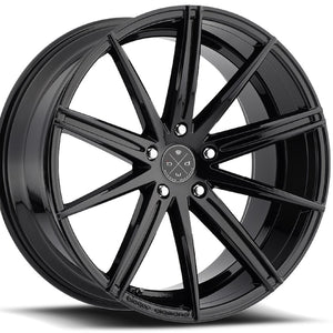 22x9 Blaque Diamond BD-11 Black Concave Wheels rims by Kixx Motorsports https://www.kixxmotorsports.com 4