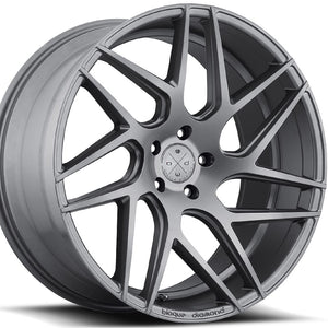 "20"" Blaque Diamond BD3 Graphite/Gunmetal Concave Wheels Rims by KIXX Motorsports https://www.kixxmotorsports.com/products/20-full-staggered-set-blaque-diamond-bd-3-20x9-20x10-5-matte-graphite-wheels"