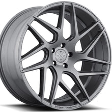 "19"" Blaque Diamond BD3 Concave wheels rims by KIXX Motorsports. https://www.kixxmotorsports.com/products/19-full-staggered-set-blaque-diamond-bd-3-19x8-5-19x10-matte-graphite-wheels"