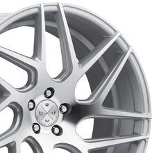 "19"" Blaque Diamond BD3 Silver Concave wheels by Authorized Dealer KIXX Motorsports https://www.kixxmotorsports.com/products/19x8-5-blaque-diamond-bd-3-machine-silver-wheel"