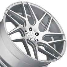 "19"" Blaque Diamond BD3 Silver Concave wheels rims by KIXX Motorsports https://www.kixxmotorsports.com/products/19x10-blaque-diamond-bd-3-mashine-silver-wheel"