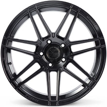 "20"" Ferrada F8-FR6 Black concave staggered wheels rims by Kixx Motorsports https://www.kixxmotorsports.com 3"