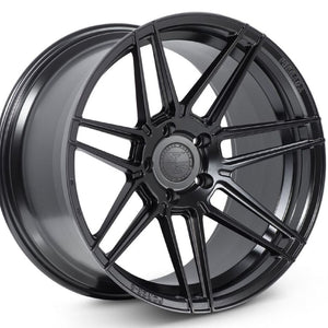 "20"" Ferrada F8-FR6 Black concave staggered wheels rims by Kixx Motorsports https://www.kixxmotorsports.com 1"