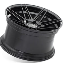 "20"" Ferrada F8-FR6 Black concave staggered wheels rims by Kixx Motorsports https://www.kixxmotorsports.com 2"