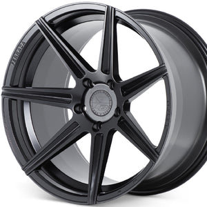20x10 20x12 Ferrada F8-FR7 Black concave staggered wheels custom rims. By Kixx Motorsports https://www.kixxmotorsports.com/products/20-full-staggered-set-ferrada-f8-fr7-20x10-20x12-matte-black-wheels