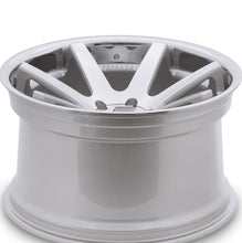 "22"" Ferrada FR1 Machine Silver / Chrome Lip concave wheels by KIXX Motorsports https://www.kixxmotorsports.com/products/22-full-staggered-set-ferrada-fr1-22x9-22x10-5-machine-silver-w-chrome-lip-wheels"