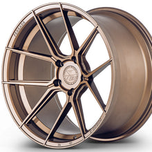 "Ferrada FR8 20"" Bronze concave wheels rims by Authorized Dealer Kixx Motorsports https://www.kixxmotorsports.com/products/20-full-staggered-set-ferrada-f8-fr8-20x9-20x10-5-matte-bronze-forged-wheels"