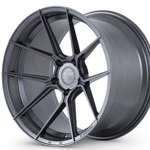 "20"" Ferrada F8-FR8 Graphite/Gunmetal concave wheels rims by Authorized Dealer KIXX Motorsports https://www.kixxmotorsports.com/products/20-full-staggered-set-ferrada-f8-fr8-20x10-20x11-5-graphite-forged-wheels"