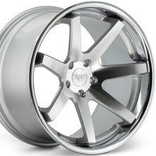 22x9 Ferrada FR1 Silver wheels by Kixx Motorsports https://www.kixxmotorsports.com/products/22x9-ferrada-fr1-machine-silver-w-chrome-lip-wheel