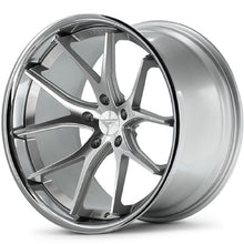 "20"" Silver concave wheels rims https://www.kixxmotorsports.com/products/20-full-staggered-set-ferrada-fr2-20x10-20x11-5-machine-silver-w-chrome-lip-wheels"