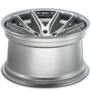 "20"" Ferrada FR2 Silver concave wheels Rims by KIXX Motorsports https://www.kixxmotorsports.com/products/20-full-staggered-set-ferrada-fr2-20x9-20x10-5-machine-silver-w-chrome-lip-wheels"
