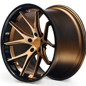 "22"" Ferrada FR4 Bronze wheels https://www.kixxmotorsports.com/products/22-full-staggered-set-ferrada-fr2-22x9-5-22x11-matte-bronze-w-gloss-black-lip-wheels"
