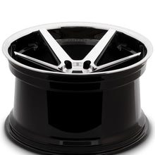 "22"" Ferrada FR3 Concave Machine Black wheels by KIXX Motorsports https://www.kixxmotorsports.com/products/22-full-staggered-set-ferrada-fr3-22x9-22x11-machine-black-w-chrome-lip-wheels"