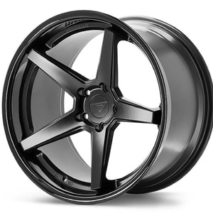 19x9.5 Ferrada FR3 Black concave wheels rims by Authorized Dealer Kixx Motorsports https://www.kixxmotorsports.com