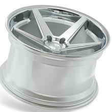 "20"" Ferrada FR3 Concave silver wheels by Auhorized Dealer KIXX Motorsports https://www.kixxmotorsports.com/products/20-full-staggered-set-ferrada-fr3-20x10-5-20x11-5-machine-silver-w-chrome-lip-wheels"