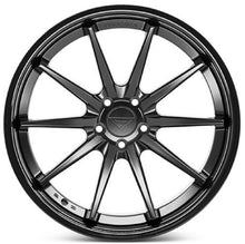 Black concave wheels rims by Authorized Dealer KIXX Motorsports https://www.kixxmotorsports.com/products/19-full-staggered-set-ferrada-fr4-19x8-5-19x10-5-matte-black-w-gloss-black-lip-wheels