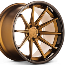 "20"" Concave Deep Bronze wheels rims by Authorized Dealer KIXX Motorsports https://www.kixxmotorsports.com/products/20-full-staggered-set-ferrada-fr4-20x9-20x11-5-matte-bronze-w-gloss-black-lip-wheels"