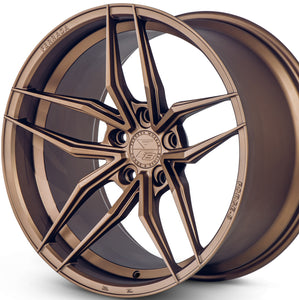 "20"" Ferrada F8-FR5 Bronze concave wheels rims https://www.kixxmotorsports.com/products/20-full-staggered-set-ferrada-f8-fr5-20x10-20x12-matte-bronze-wheels"