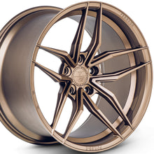 "20"" Bronze concave wheels by KIXX Motorsports https://www.kixxmotorsports.com/products/20-full-staggered-set-ferrada-f8-fr5-20x10-20x11-matte-bronze-wheels"