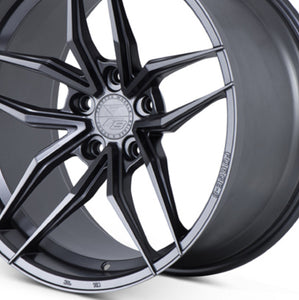 "20"" Ferrada F8-FR5 Graphite concave wheels rims by Authorized Dealer KIXX Motorsports https://www.kixxmotorsports.com/products/20-full-staggered-set-ferrada-f8-fr5-20x10-20x12-graphite-wheels"