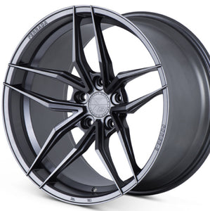 "20"" Ferrada FR5 Graphite concave wheels rims by KIXX Motorsports https://www.kixxmotorsports.com/products/20-full-staggered-set-ferrada-f8-fr5-20x9-20x10-matte-graphite-wheels"