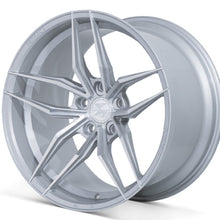 "20"" Ferrada F8-FR5 Silver concave wheels rims by Authorized Dealer Kixx Motorsports https://www.kixxmotorsports.com/products/20-full-staggered-set-ferrada-f8-fr5-20x10-20x12-machine-silver-wheels"