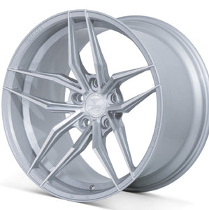"20"" Ferrada F8-FR5 Silver concave wheels rims by Kixx Motorsports https://www.kixxmotorsports.com/products/20-full-staggered-set-ferrada-f8-fr5-20x9-20x12-machine-silver-wheels"