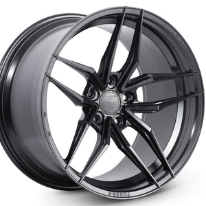 20x9 Ferrada F8 FR5 Black forged concave wheels by Authorized Dealer Kixx Motorsports https://www.kixxmotorsports.com 7