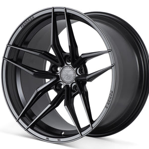 "20"" Ferrada F8 FR5 Black concave wheels rims by Authorized Dealer Kixx Motorsports https://www.kixxmotorsports.com 4"