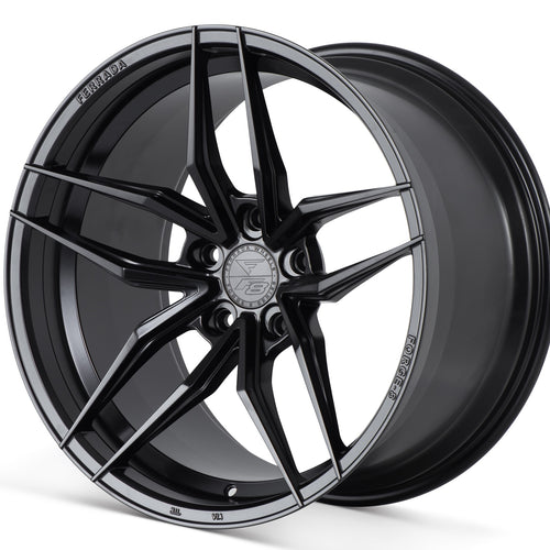 20x10.5 Ferrada FR5 Black forged concave wheels by Authorized Dealer Kixx Motorsports https://www.kixxmotorsports.com 4